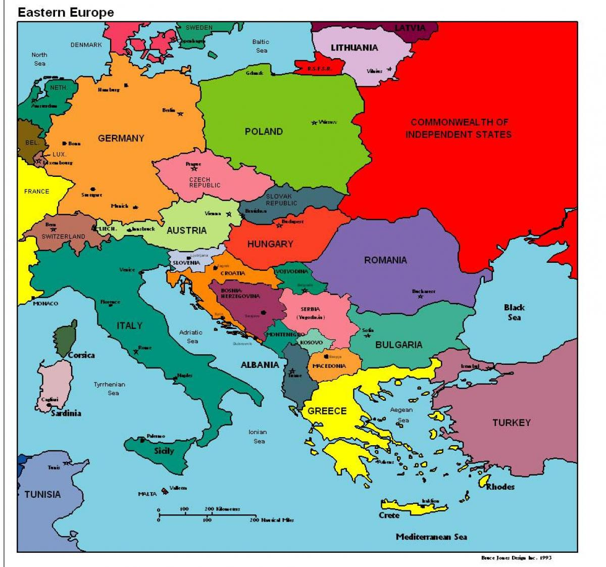 Albania Map Europe Map Of Europe Showing Albania Southern Europe
